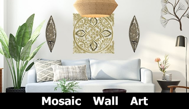 Mosaic Wall Art For Home Decor #infographic