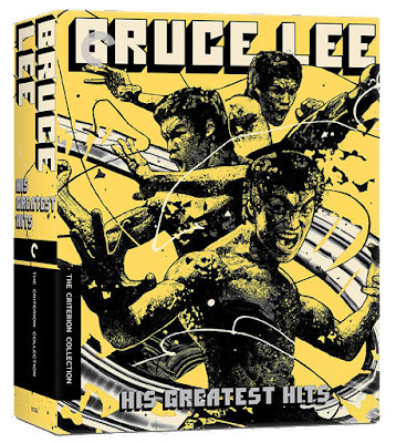 Cover art for The Criterion Collection's BRUCE LEE: HIS GREATEST HITS Blu-ray set!