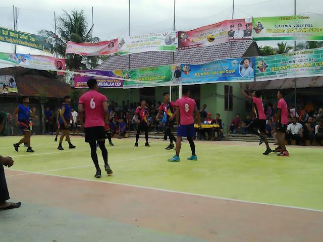 Jihar News, Hari Kedua Blang Dalam Cup, Gajah Puteh VC Dewantara Kalahkan Piton VC Muara satu