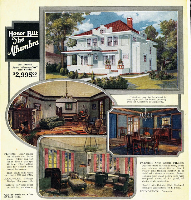 Sears Alhambra  @ Sears Homes of Chicagoland