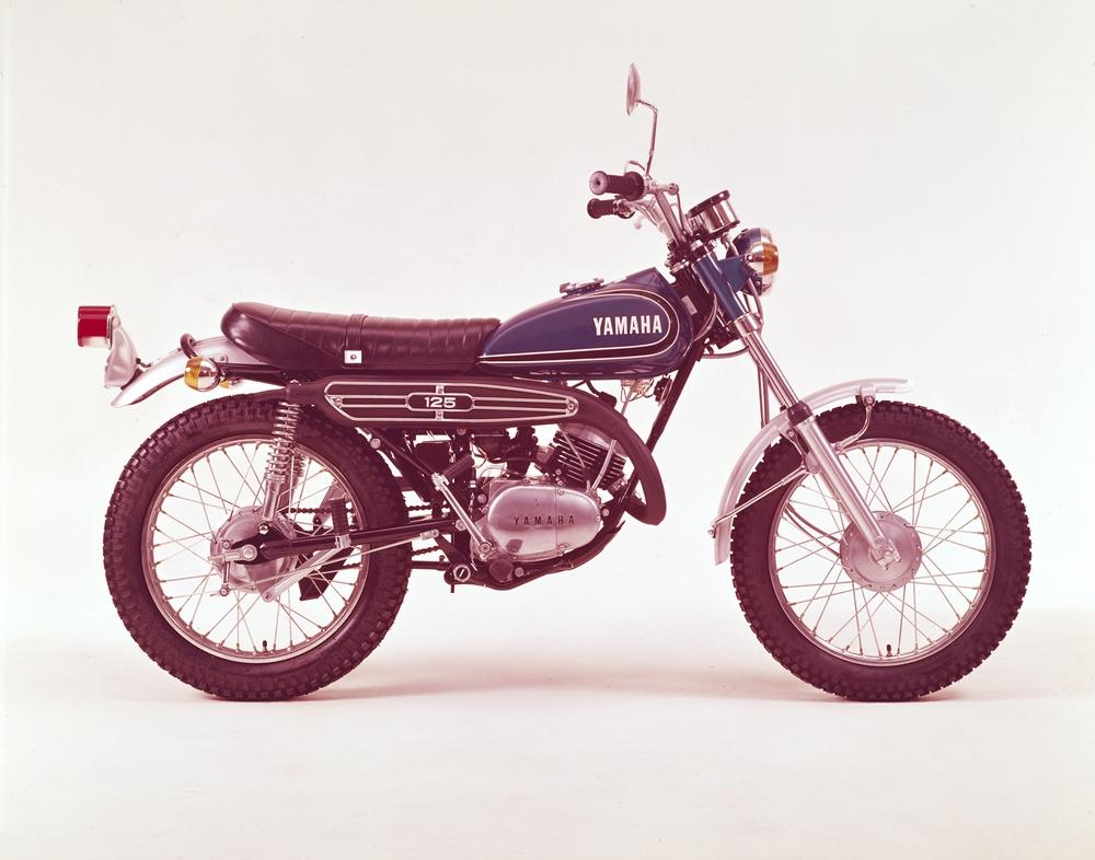 9 Motor Jadul Yamaha Yang Pernah Ada Di Indonesia