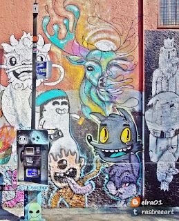 mural colectivo Mujam
