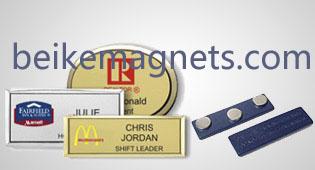 Custom Magnetic Name Badges