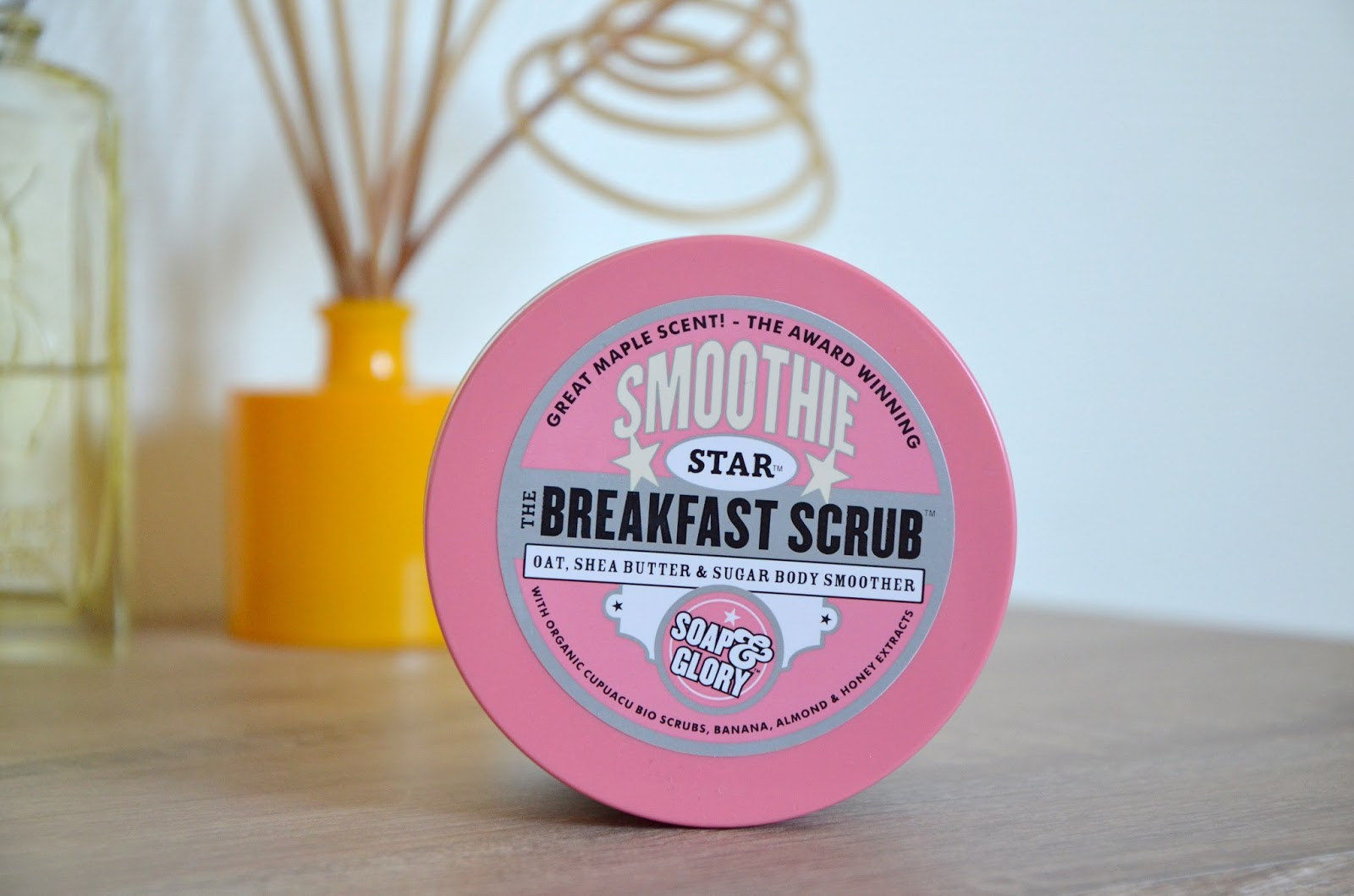TAG mes 7 pêchés capitaux beauté Gommage exfoliant Smoothie Star The Brackfast Scrub Soap and Glory