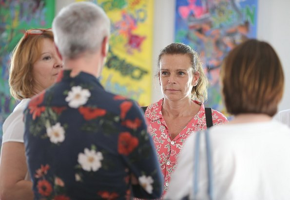 Princess Stéphanie attended 8th anniversary of House of Life