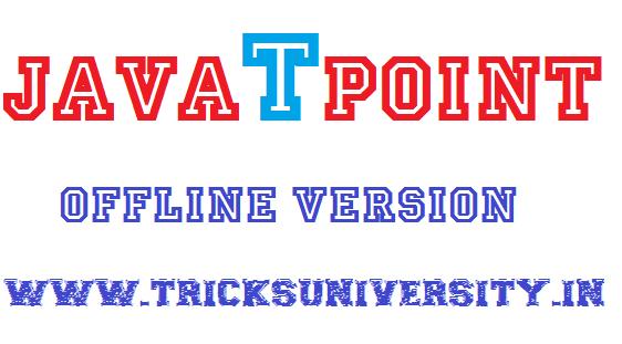 JavaTPoint Offline Free Download 2016 Google drive link