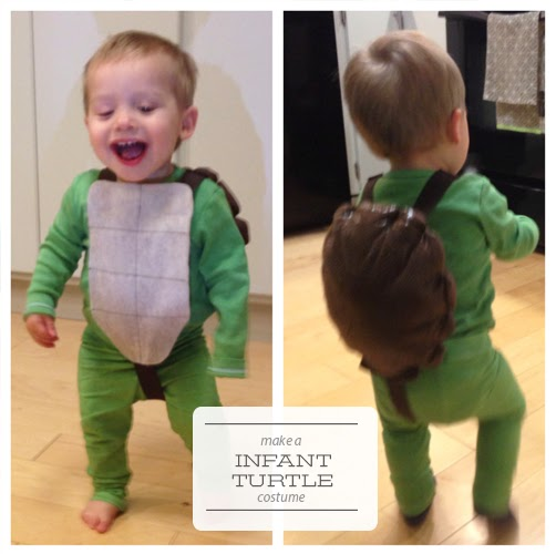 One Project At A Time Diy Blog Sew A Turtle Costume