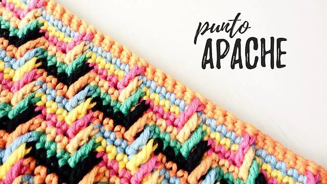 Tutorial Punto Maravilloso o Apache Tears a Crochet