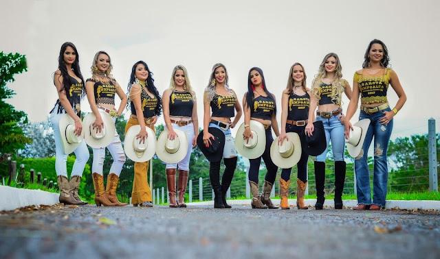 Nove candidatas disputam o título de rainha da 29ª Expoalta