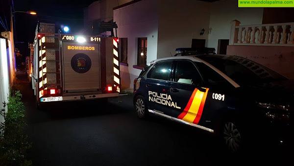 Incendio ayer en la cocina de una vivienda de Santa Cruz de La Palma