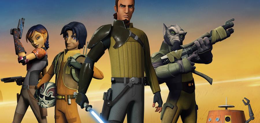 Rebelii din serialul animat Star Wars: Rebels
