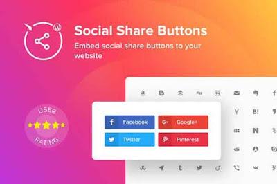 Social Media Widget Blogger
