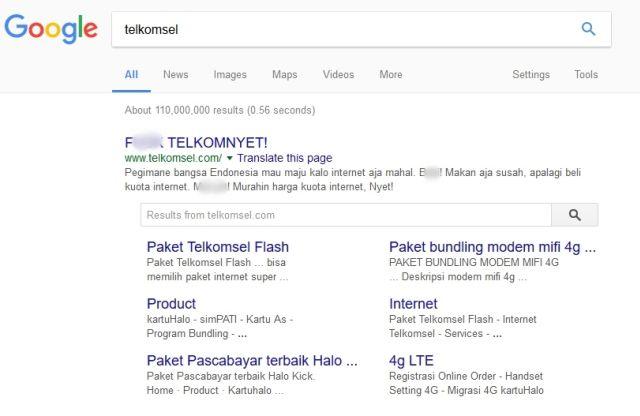 Paket Internet Terlalu Mahal Website Telkomsel pun di Retas