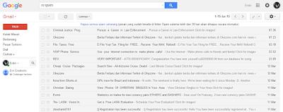 Cara mengganti Tema ataupun Tampilan Gmail