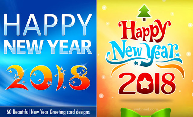 Happy New Year Greetings 2018 !! Happy New Year Greetings Messages,Card In Hindi And English