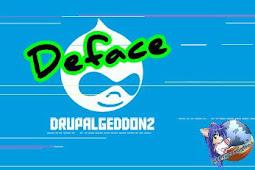 Deface Drupal RCE