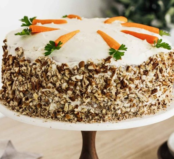 Southern Style Carrot Cake #desserts #homemade