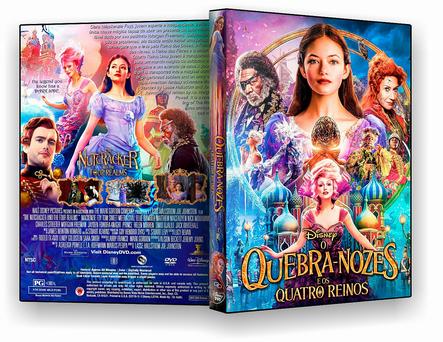 CAPA DVD – O QUEBRA NOZES E OS QUATRO REINOS – OFICIAL