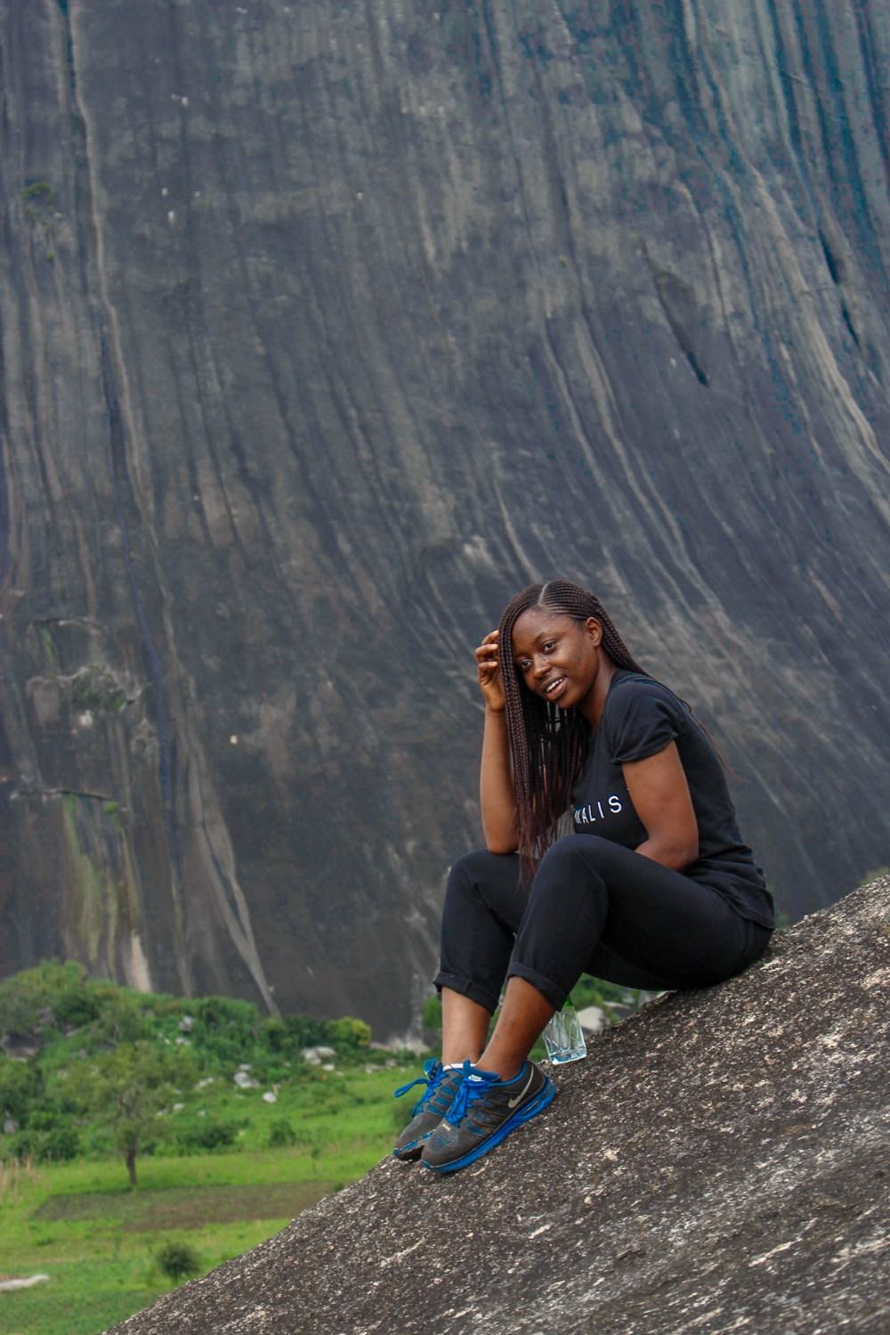 Hiking in hills in Abuja, Zuma Rock Suleja Niger State