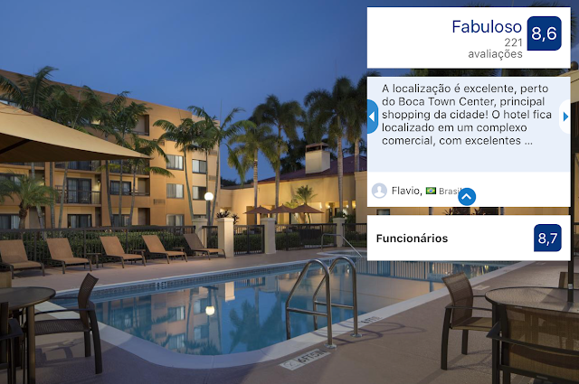 Hotel Courtyard Boca Raton: piscina