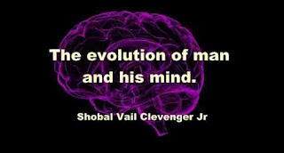 The evolution of man and his mind.