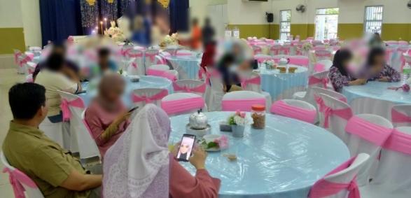"""""""Degil!"""" - Tetamu kenduri kahwin Fatin&Azlan dicari pejabat kesihatan daerah Seberang Perai Tengah!"""