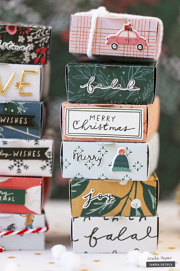 CRATE PAPER | Merry Days | Gift Wrapping | Gift Boxes | C