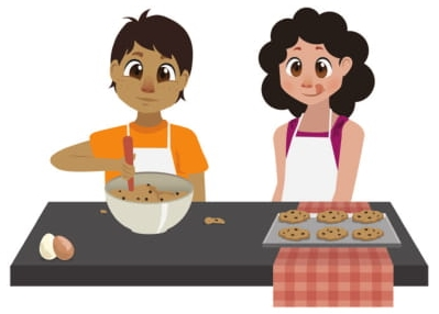 Sílvia e Renato vão fazer 60 biscoitos cada um