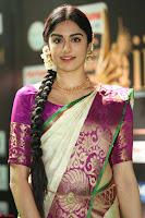Adah Sharma looks super cute in Saree at IIFA Utsavam Awards 009.JPG