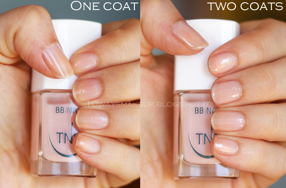 tns cosmetics bb nail smalto coat