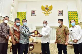 Gubernur Edy Rahmayadi Minta Pertamina Jaga Ketersediaan BBM dan Elpiji di Sumut
