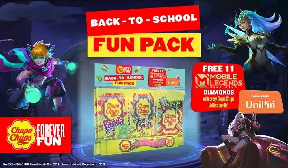 Second Chupa Chups Jellies Fun Pack