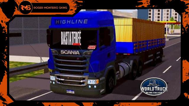 Scania R, Carretinha dois eixos