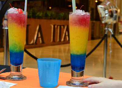 Our Guide to Family Dining & Children's Menus at intu Metrocentre restaurants - Rainbows and Dreams Mocktail - Chiquito