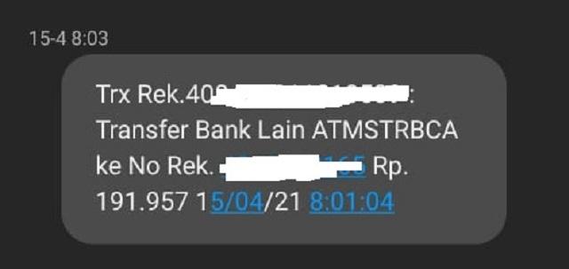 kenapa notifikasi sms banking bri tidak masuk