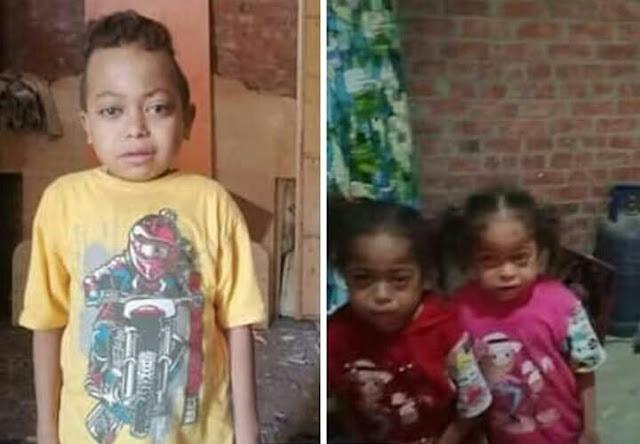 القباج تنقذ 3 أطفال معاقين بعد انتحار والدهم
