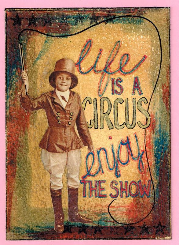 Vintage Circus Art 98