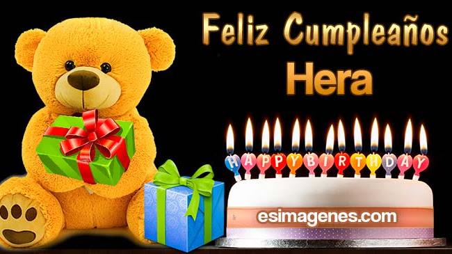 Feliz cumpleaños Hera