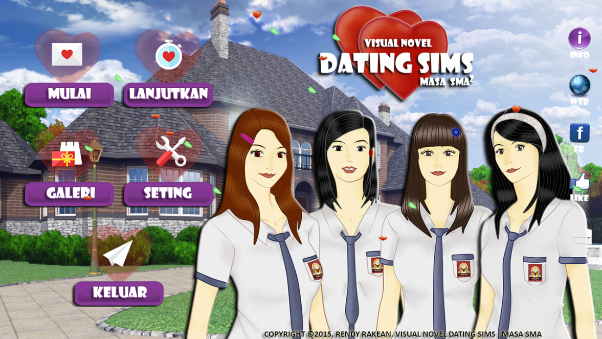 Visual novel dating sim online