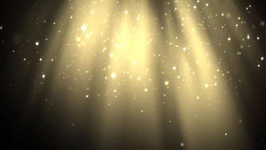 تحميل فيديو غبار ذهب متناثر جرافيك موشن للمونتاج بدقة HD. GoldenDust FREE Video Background Loop HD
