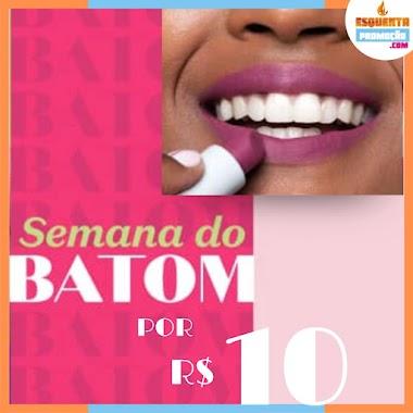 Promoção Semana do Batom Boticário