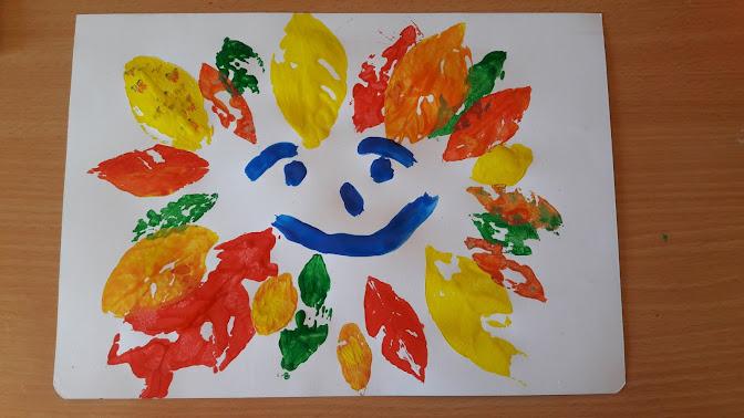 faccia di foglie www.mammecomeme.com
