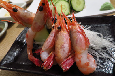 Miz Japanese Restaurant, amaebi