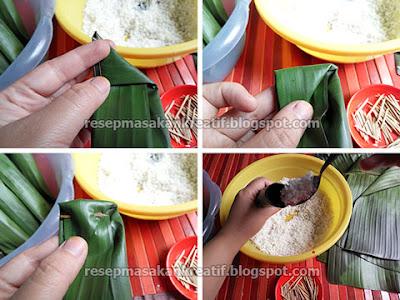 Cara tradisional menciptakan lontong dengan memakai daun pisang sebagai bungkusnya akan m Membuat Lontong Daun Pisang Agar Padat Kenyal dan Lembut