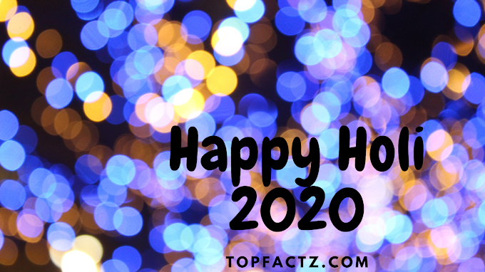 Happy Holi Quotes 2020 For Whatsapp In English - Happy Holi 2020
