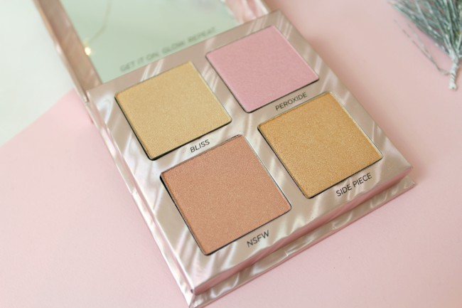 Afterglow: the dreamiest highlighter palette
