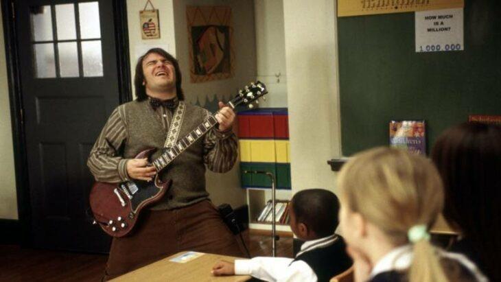 15 Extrañas curiosidades que ocurrieron durante la película 'La Escuela de Rock'