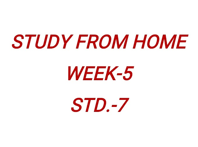 WEEK-5 STD-7 MATE STUDY FROM HOME ABHIYAAN WEEKLY LEARNING MATERIAL PDF COPY DOWNLOAD KARO.