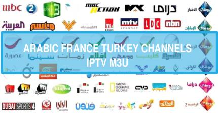 BeIN Sports France canal+ Turkey ATV Arabic Rotana M3u8