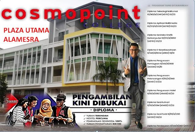 Kursus Diploma yang ditawarkan di Sabah